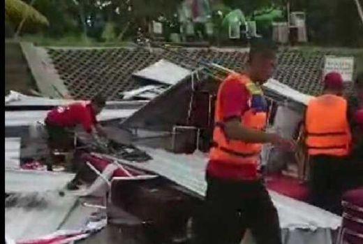 Tenda Ambruk Disapu Angin dan Hujan, Lomba Lukis Puan Maharani di Solo Batal