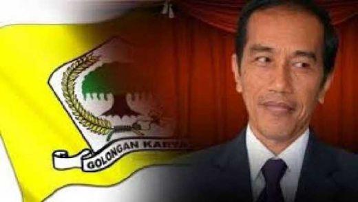 Diam-diam Politisi Golkar Ini Mulai Sosialisasikan Jokowi Sebagai Capres Partai Golkar 2019