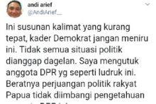Gerindra Usulkan Jokowi Berkantor di Papua, Demokrat Membela