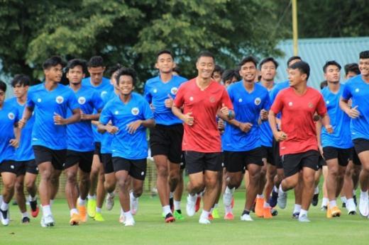 Timnas U 19 Indonesia Jalani Latihan Pemulihan di Kroasia