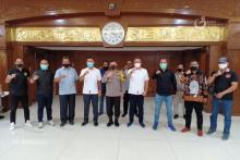 PT LIB Lakukan Audiensi, Kapolda Jatim Siap Sukseskan