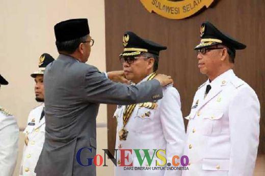 Taufan-Pangerang Akhirnya Resmi Jabat Wali Kota dan Wawali Parepare Periode 2018-2023